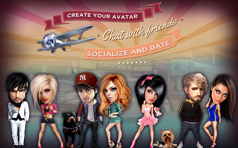 Galaxy - Chat & Play - screenshot