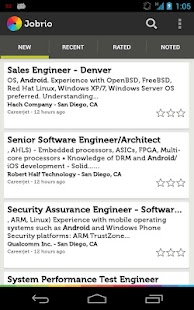 Jobrio Job Search- screenshot thumbnail