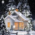 Winter Scenery Live Wallpaper icon