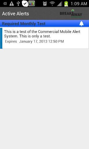 Breakaway Alerts
