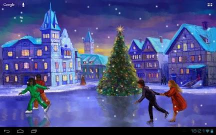 Christmas Rink Live Wallpaper Screenshot 14