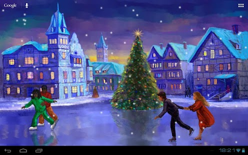 Christmas Rink Live Wallpaper Screenshot 16