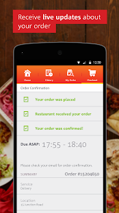 hungryhouse | Takeaway Online - screenshot thumbnail