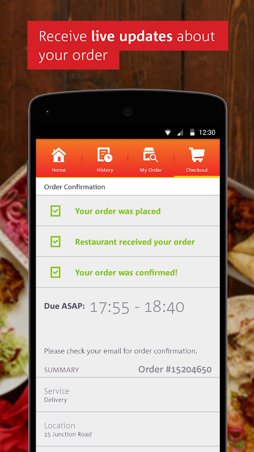 hungryhouse | Takeaway Online - screenshot