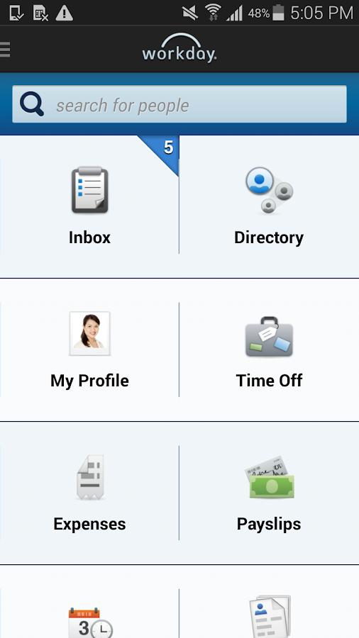 Workday - screenshot