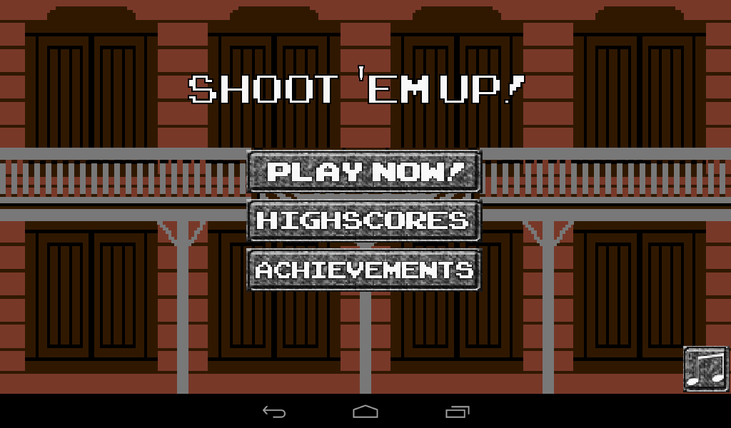 Shoot 'em up!- screenshot