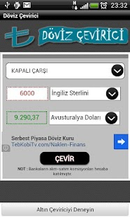 Döviz Çevirici (Anlık) - screenshot thumbnail