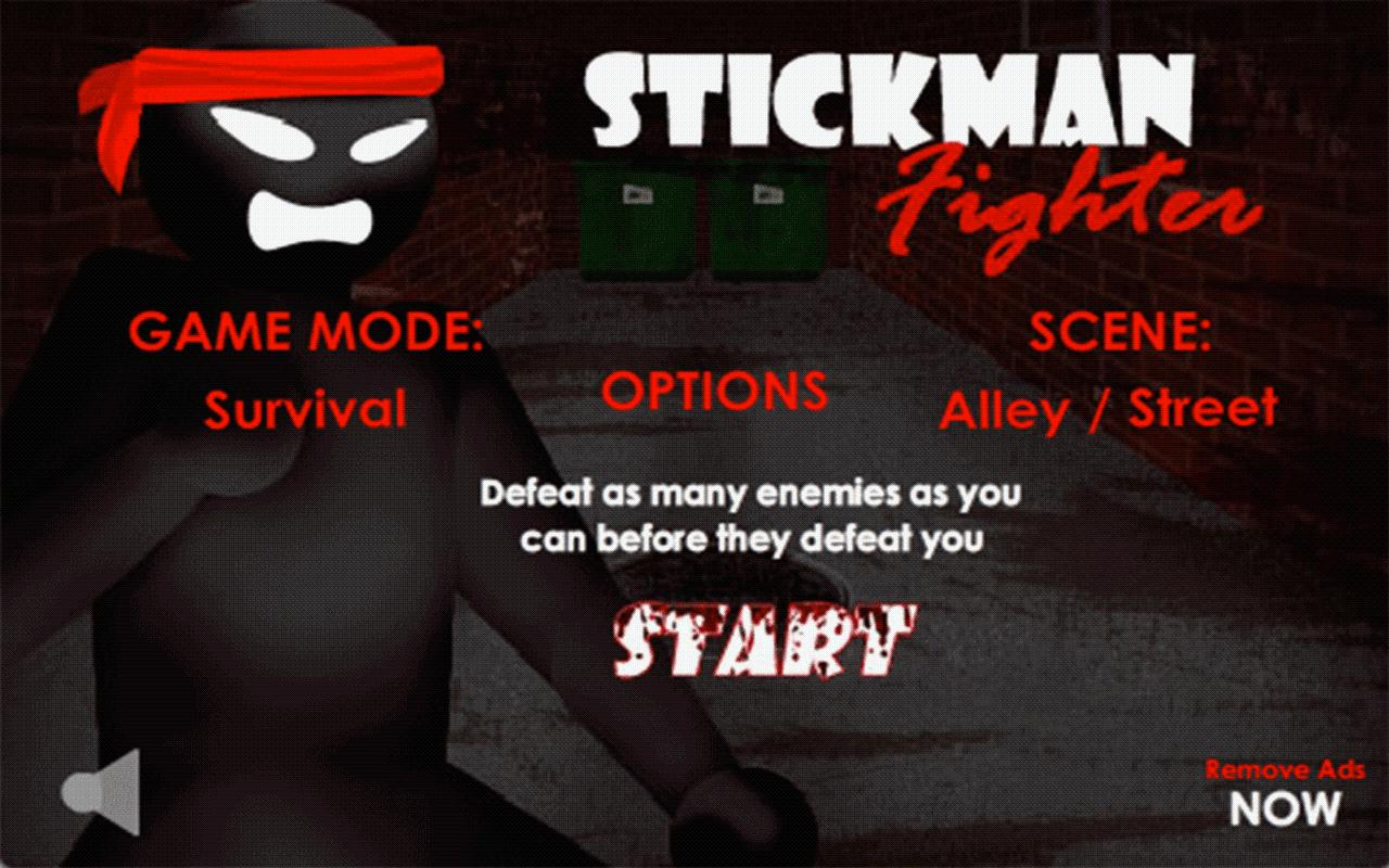 Stickman Fighter - LITE - screenshot
