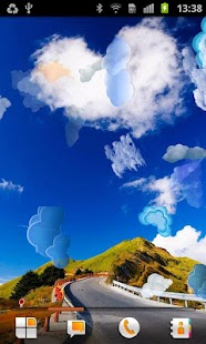 Cloud Live Wallpaper - screenshot thumbnail
