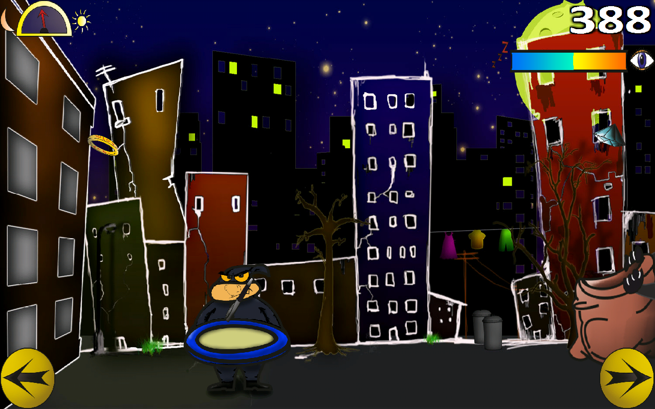 Clumsy Thief (Action Arcade)- screenshot