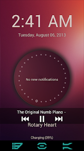 Ubuntu Lockscreen- screenshot thumbnail