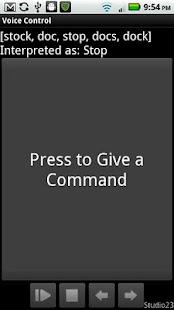 Voice Control- screenshot thumbnail