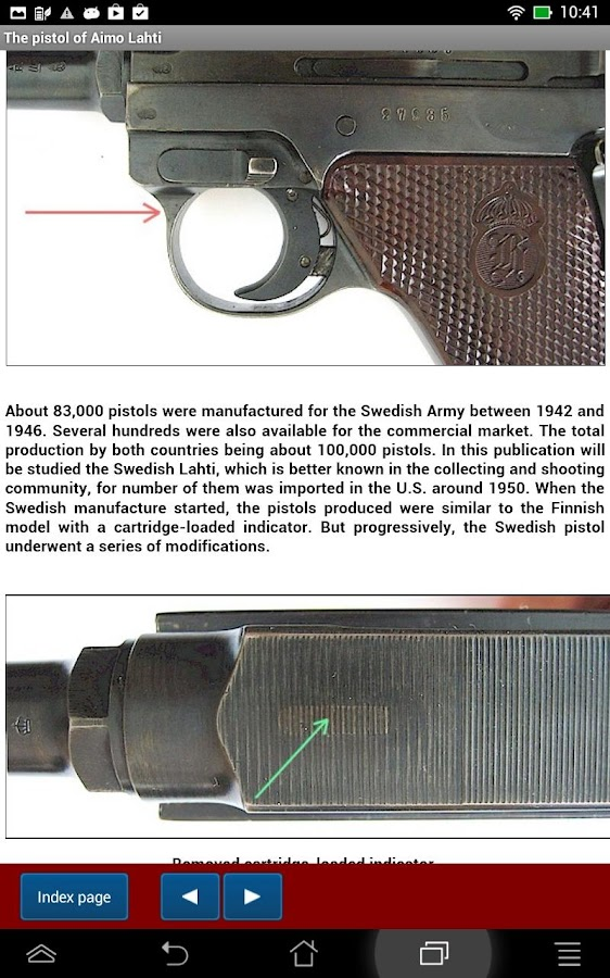 Lahti pistol explained- screenshot