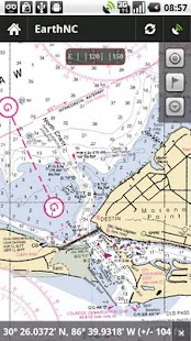 Marine Charts HD - screenshot thumbnail
