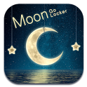 D-Moon GO Locker Theme icon