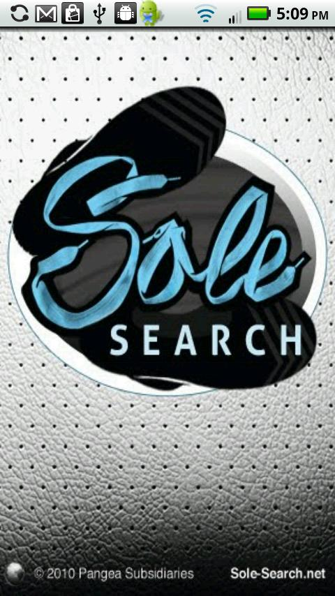 SoleSearch - screenshot