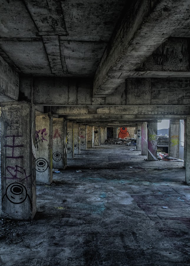 Deserted by Cosmin Lita - Buildings & Architecture Decaying & Abandoned ( building, dark, empty, deserted, decay,  )