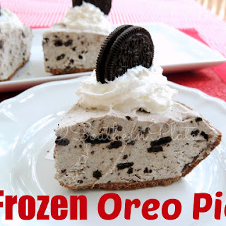 Frozen Oreo Pie Recipe