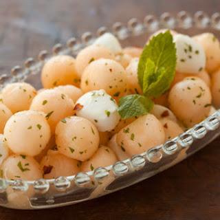 Melon and Mozzarella Salad Recipe