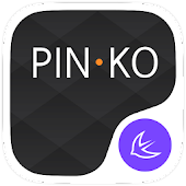 Pinko theme for APUS Launcher for Lollipop - Android 5.0