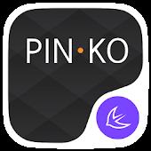 Pinko theme for APUS Launcher APK for Blackberry