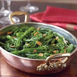 Baby Broccoli with Garlic