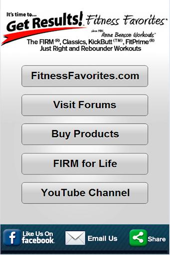 FitnessFavorites