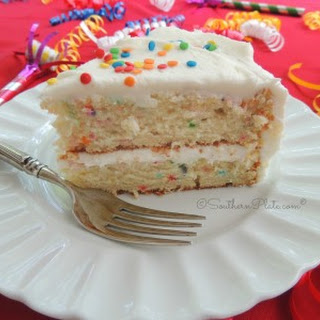 Easy Peasy Birthday Cake From Scratch