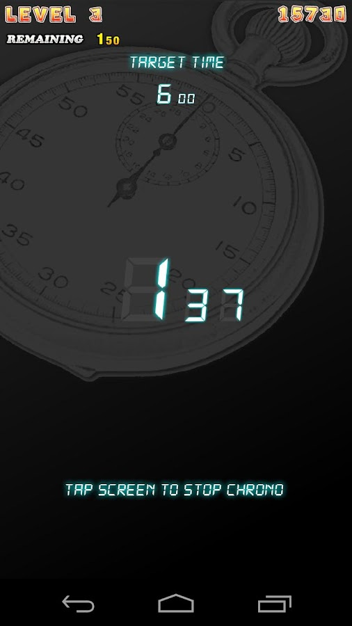ChronoStop - screenshot