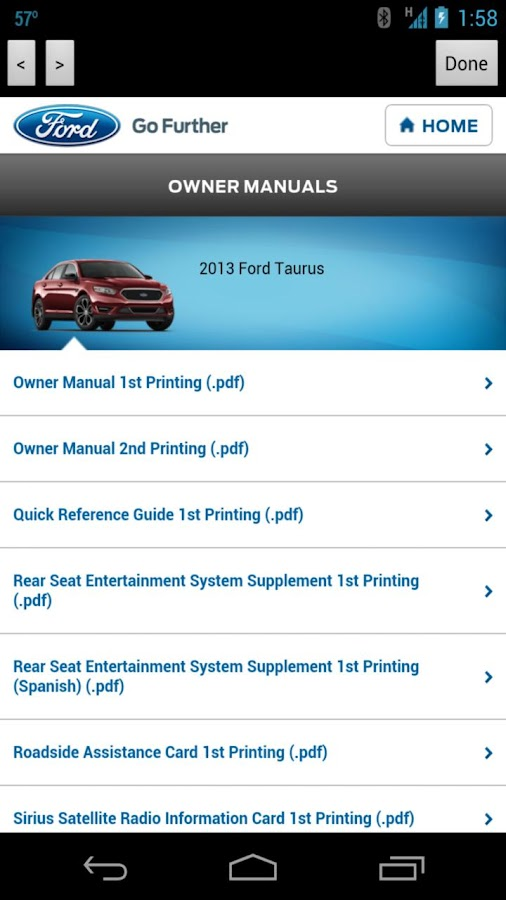 Toothman Ford App - screenshot