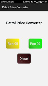 Petrol Price Converter screenshot 0