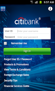 Citibank Australia - screenshot thumbnail