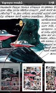 Vzpoura mozků, Galaxia a Tvrz- screenshot thumbnail