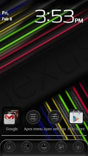 Nexus 7 Stock Apex Theme - screenshot thumbnail