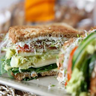 The Ultimate Veggie Sandwich.