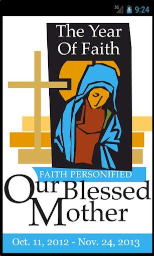 Year of Faith with Mary