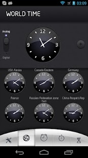 World time with alarm - screenshot thumbnail