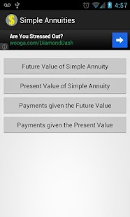 Simple Annuities - screenshot thumbnail