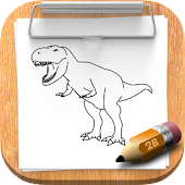 How to draw Dinosaur