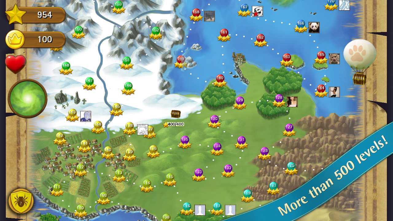 Bubble Witch Saga - screenshot