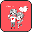 Dasom couple 1 go locker theme icon