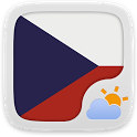 Czech Language GOWeatherEX icon