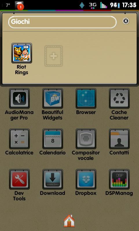 Go Launcher Theme Corkboard- screenshot