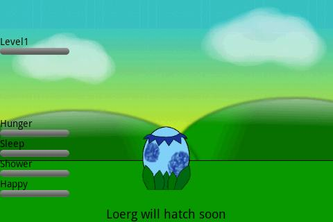 The Loerg - Virtual Pet Alpha - screenshot