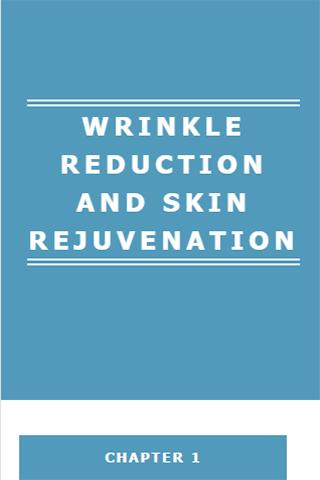 WRINKLE REDUCTION SKIN CARE