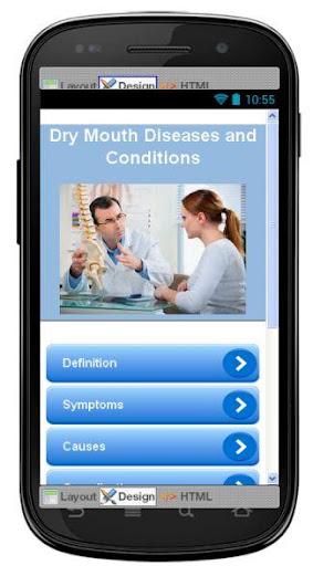 Dry Mouth Disease Symptoms