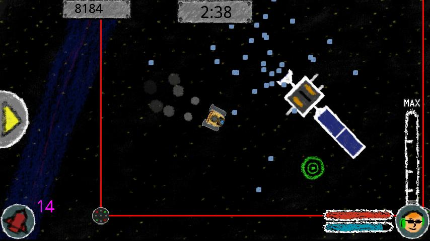 Supernova Sweep-Up Free- screenshot