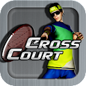Cross Court Tennis logo
