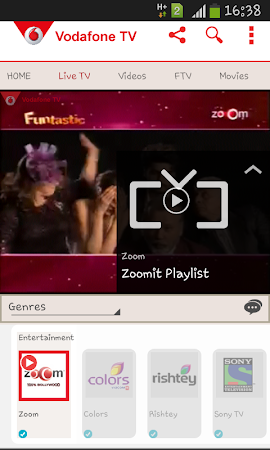 Vodafone Mobile TV Live TV 30 screenshot 296269