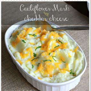 Cauliflower Mash With Cheddar Cheese